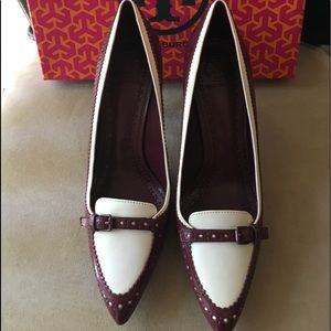 NWT AUTHENTIC TORY BURCH DARLENE LEATHER PUMP